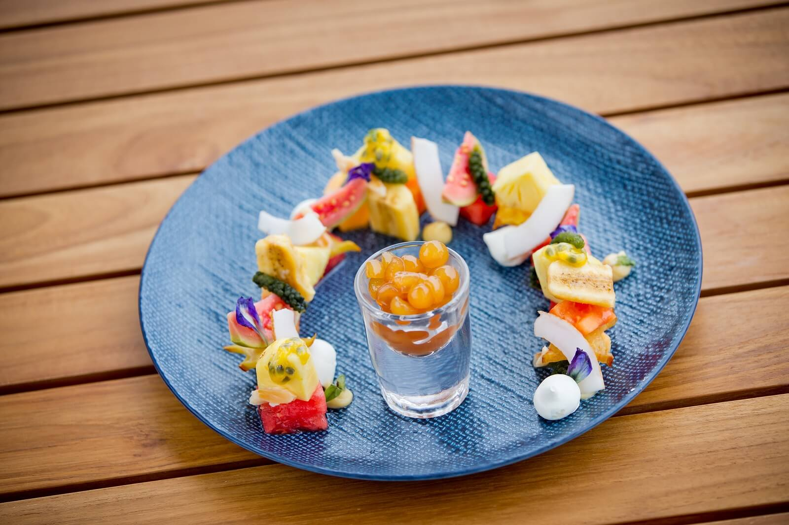 Malamala Beach Club Fiji Island Fruit Salad