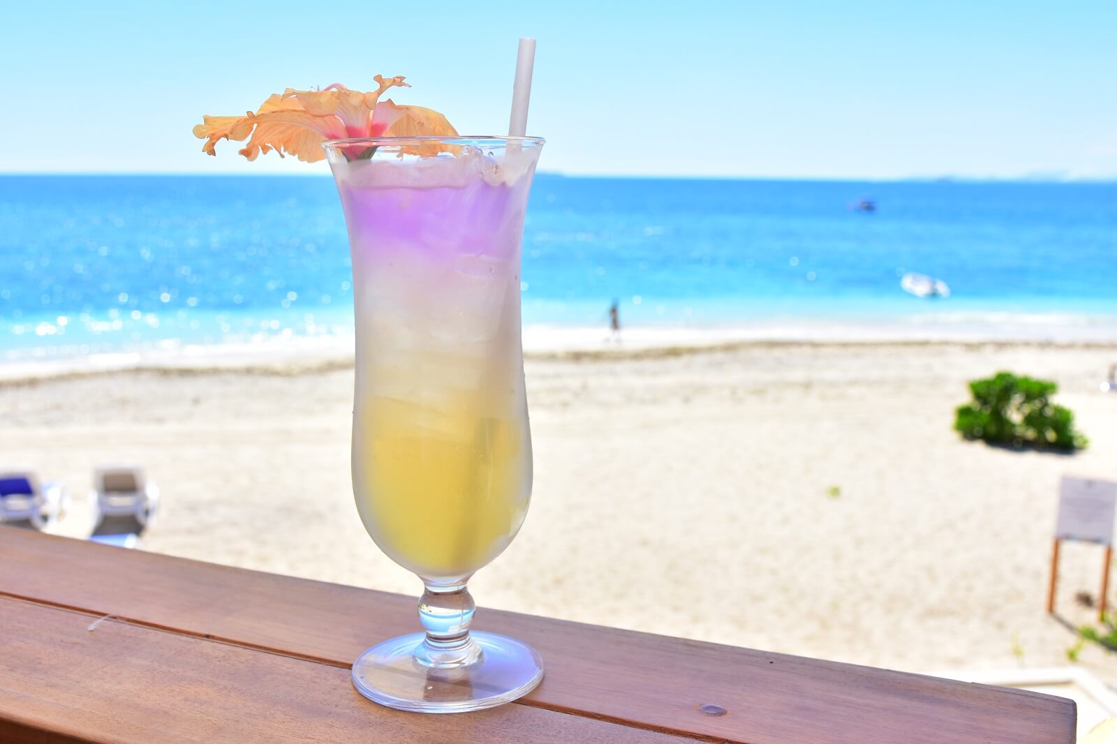 Malamala Beach Club Fiji Island Tropical Drink