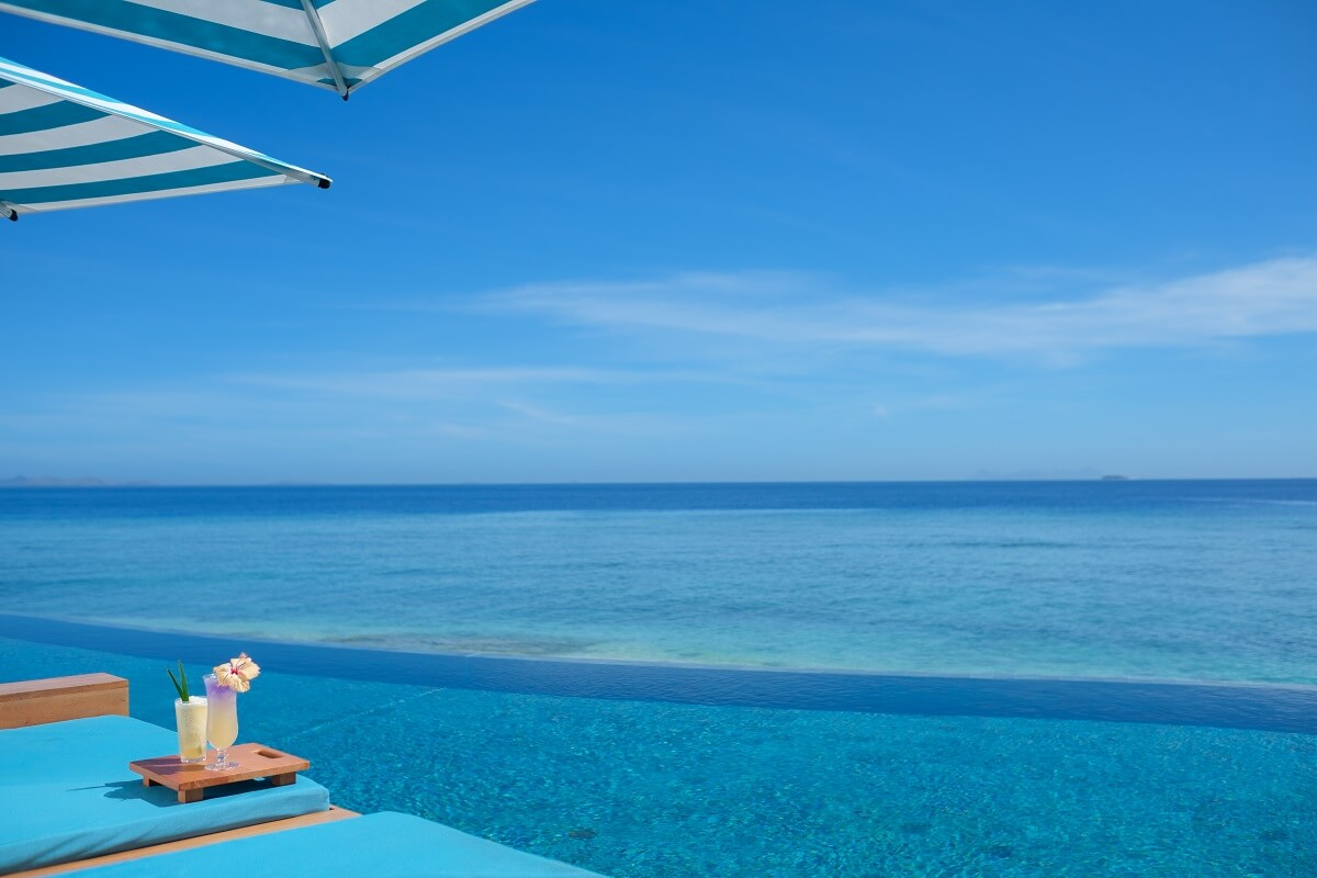 Malamala Beach Club Fiji Island Endless Pool