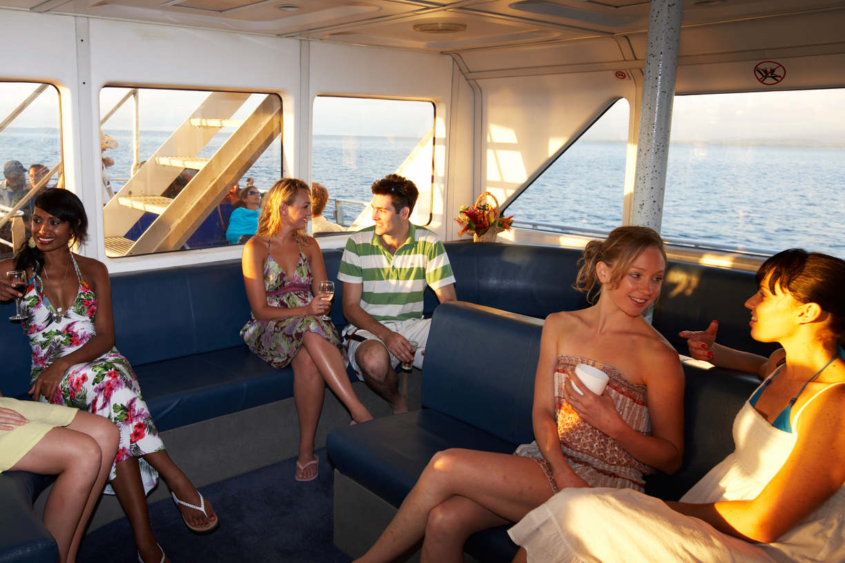 Onboard South Sea Cruises