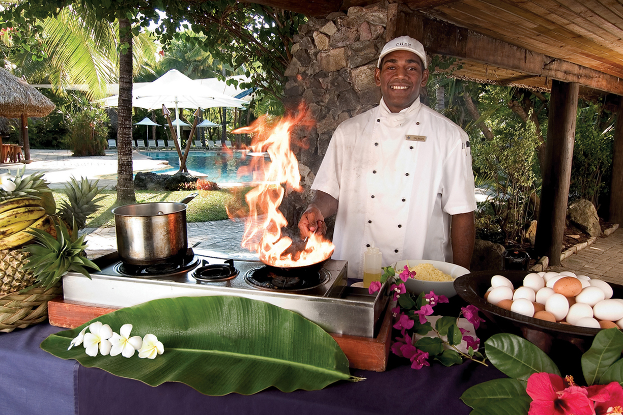 Chef at Castaway Island