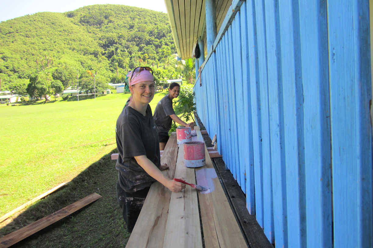 Volunteer to help Yasawa Island communities