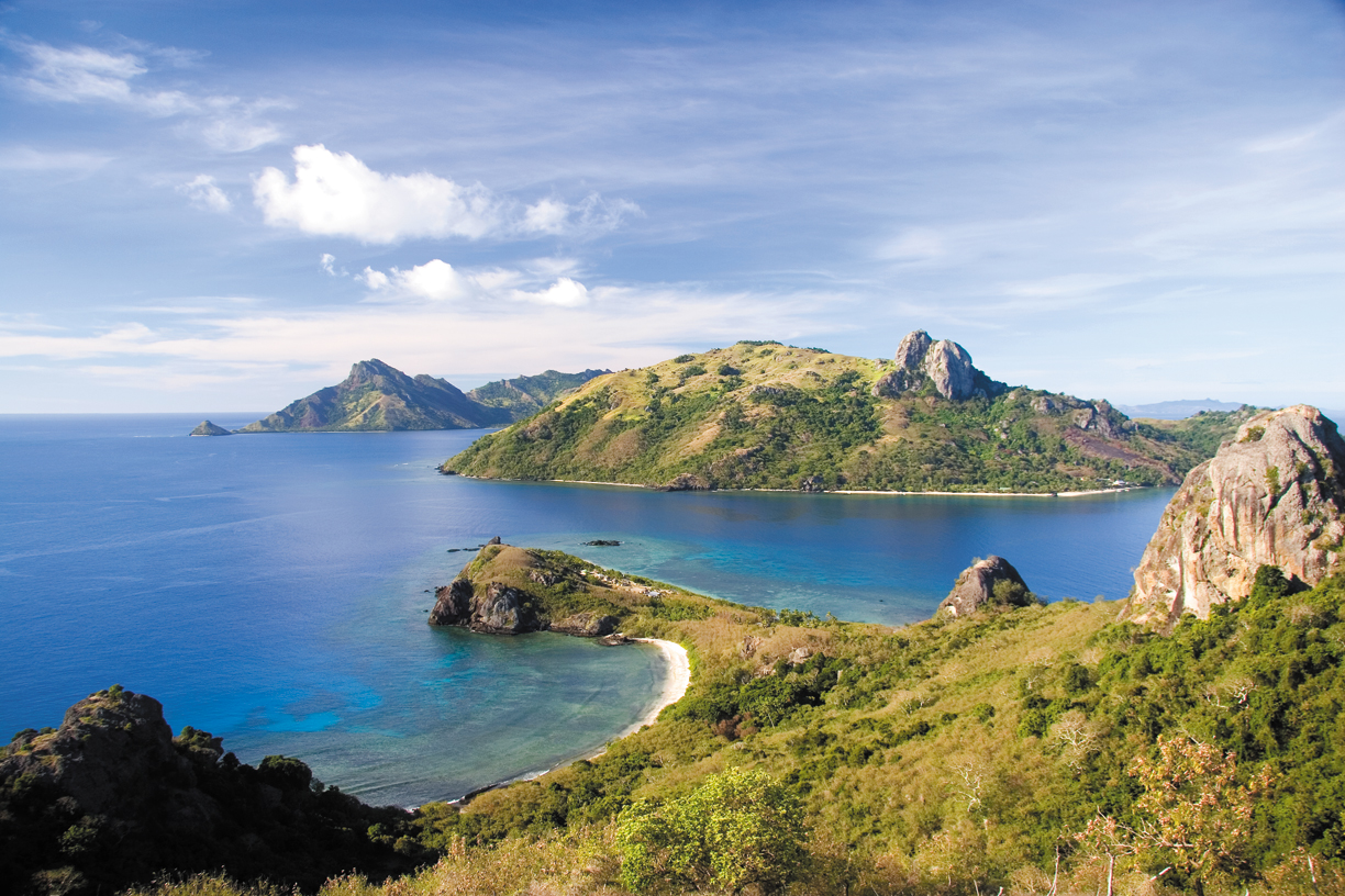 Cruise through some of Fiji's most beautiful islands