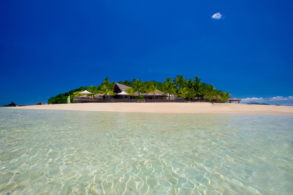 Castaway Island in Fiji's Mamanuca Islands