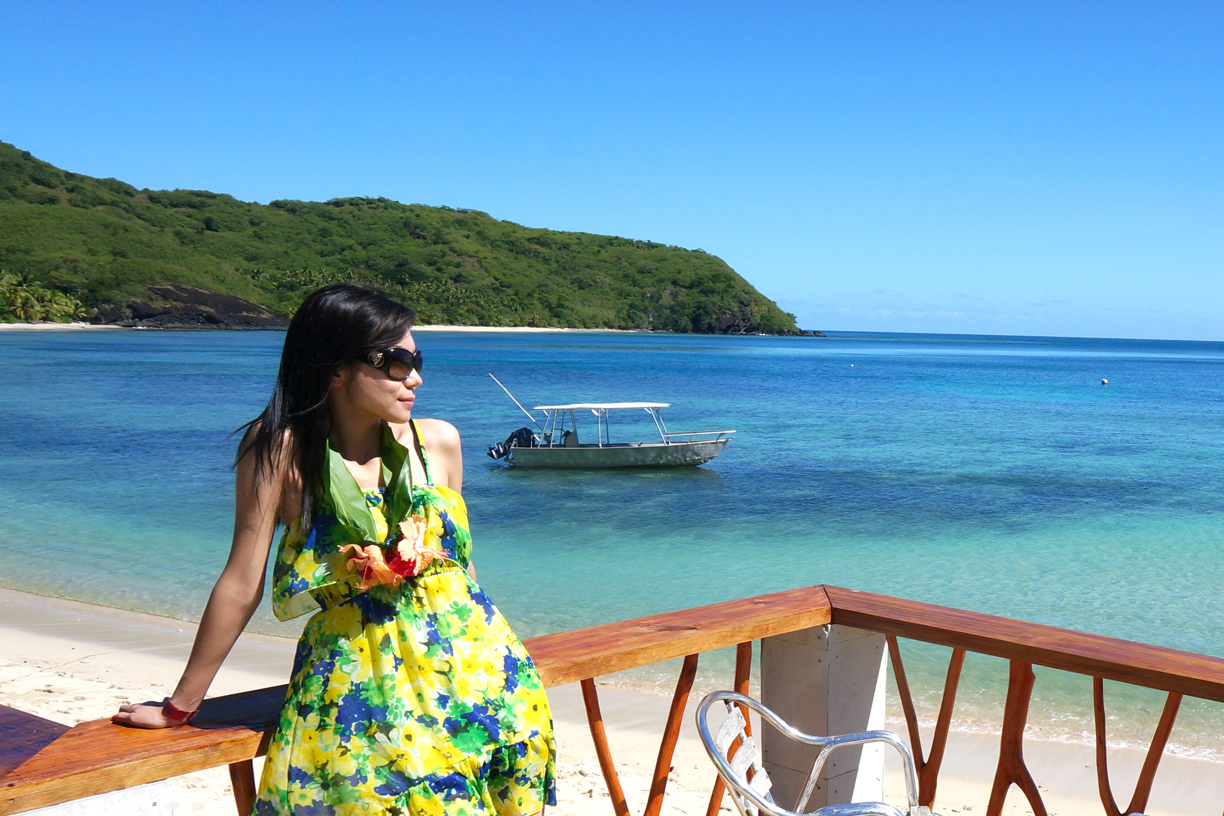 Botaira is one example of Yasawa Island paradise