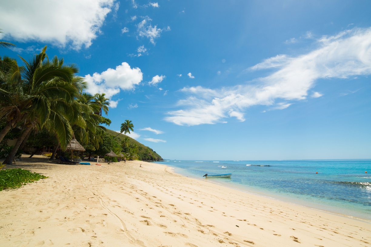 Another perfect beach in Fiji's Yasawa Islands