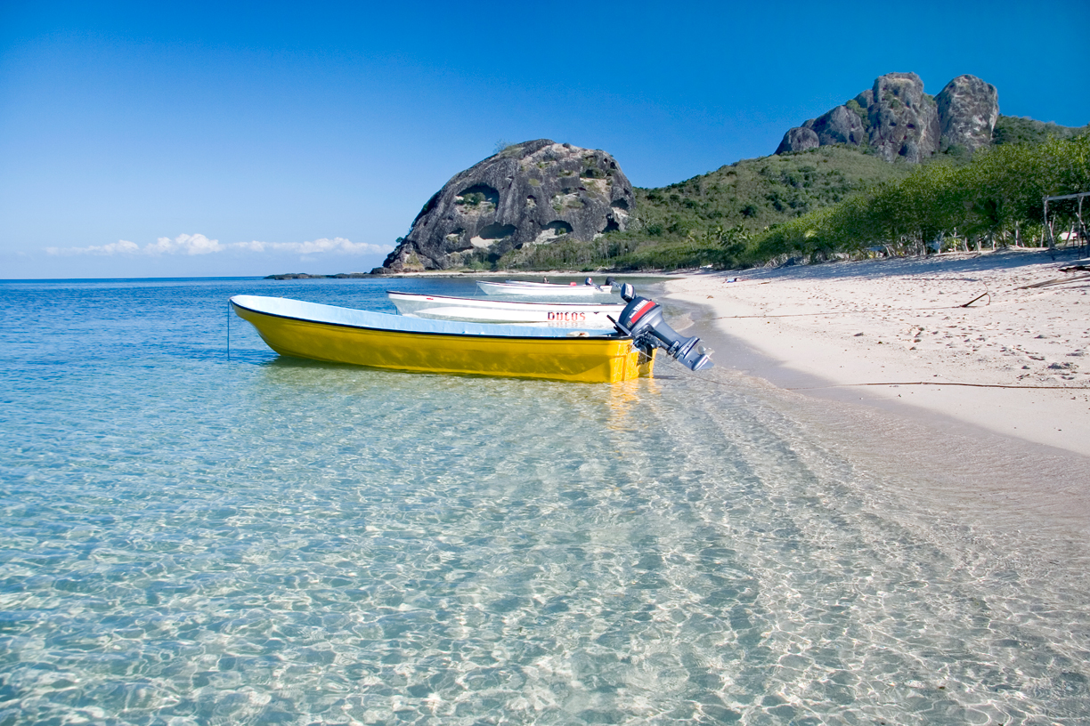 The Yasawa Islands are truly picturesque