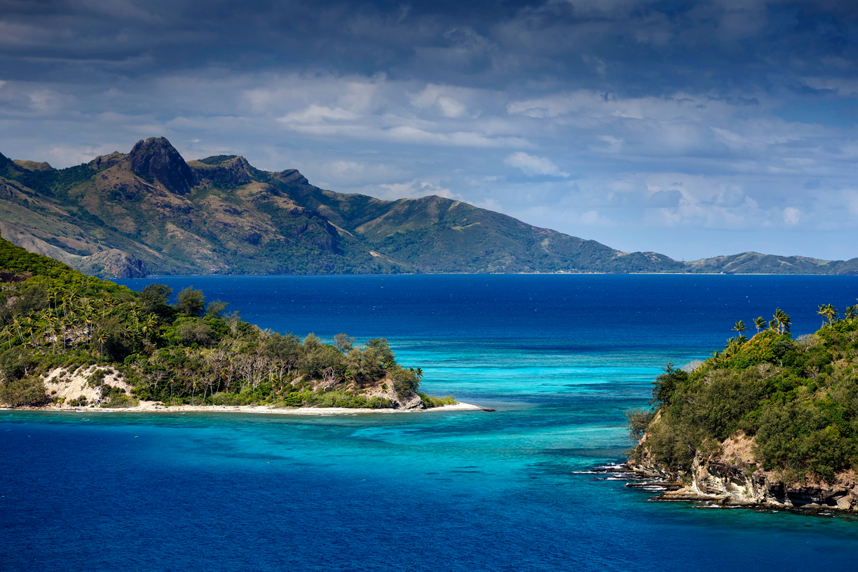 A Blue Lagoon in the Yasawa Islands