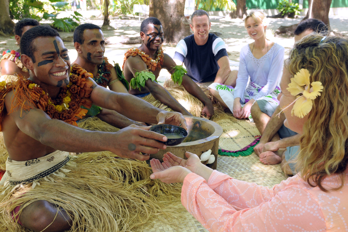 Yaqona or Kava ceremony at Treasure Island