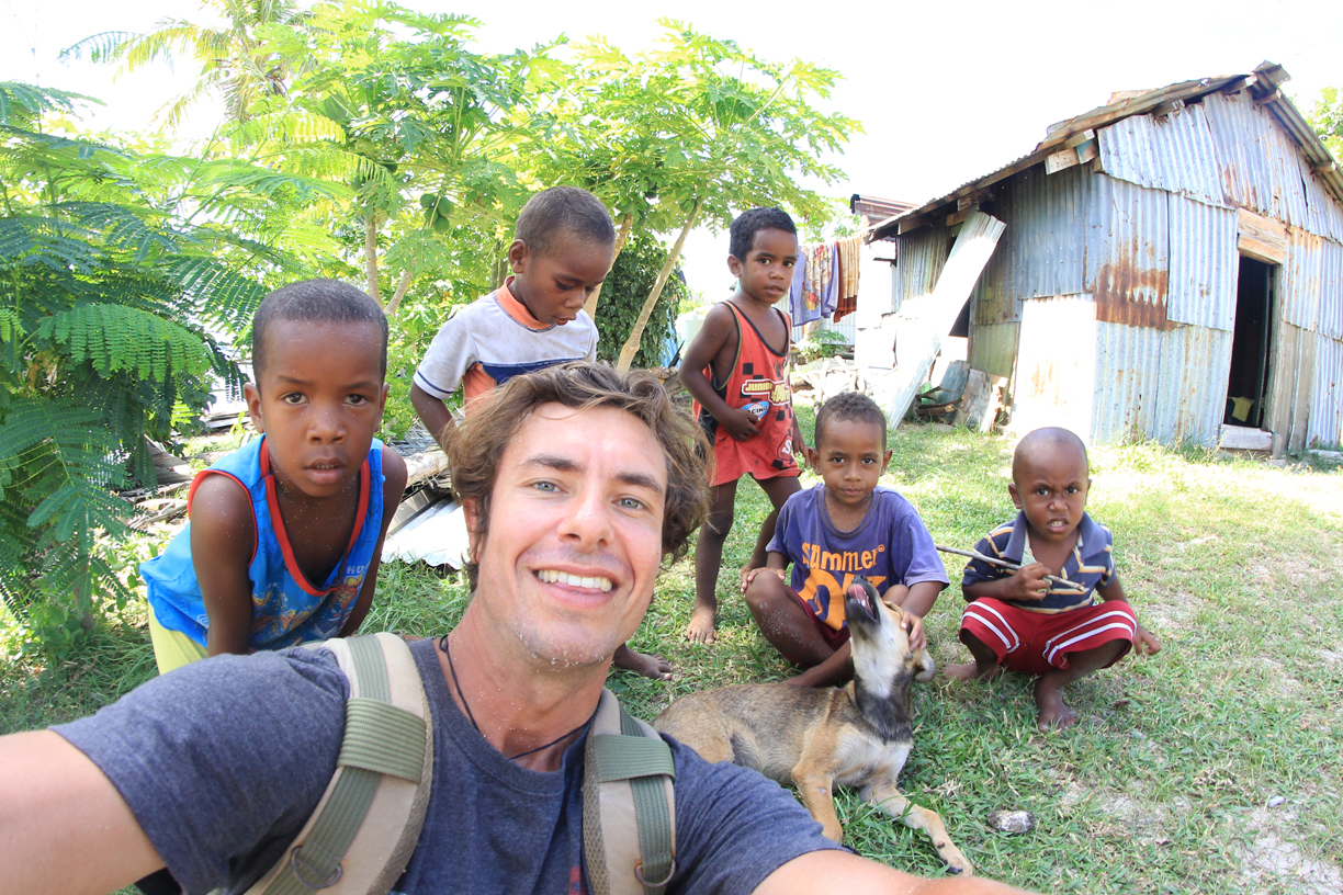 Volunteer with Vinaka Fiji