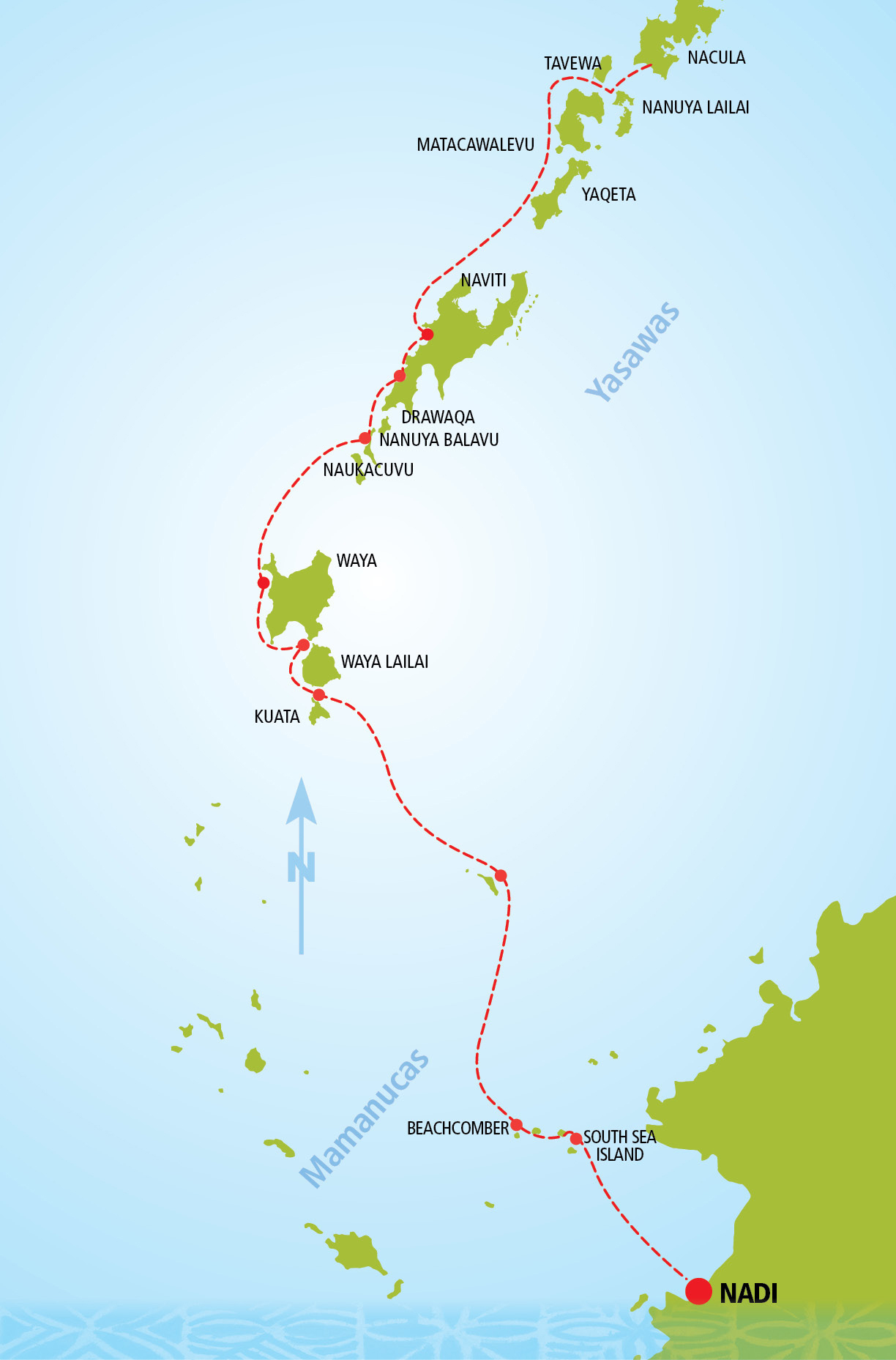 Yasawa Islands Fiji Map Yasawa Island Explorer Fiji Day Cruise | South Sea Cruises