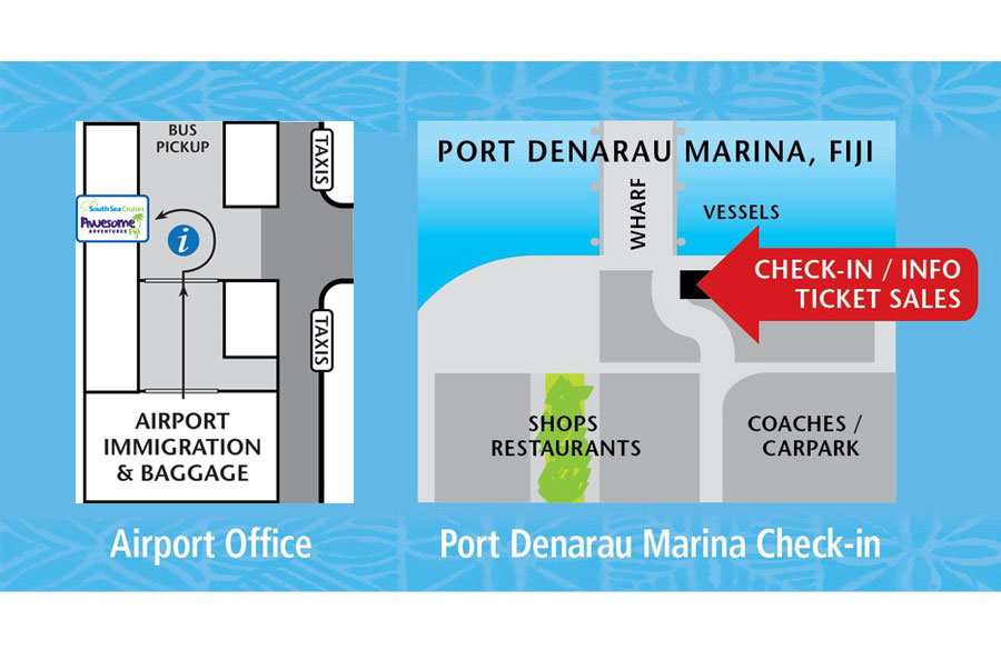 Contact South Sea Cruises | Fiji Island Day Cruises & Transfers